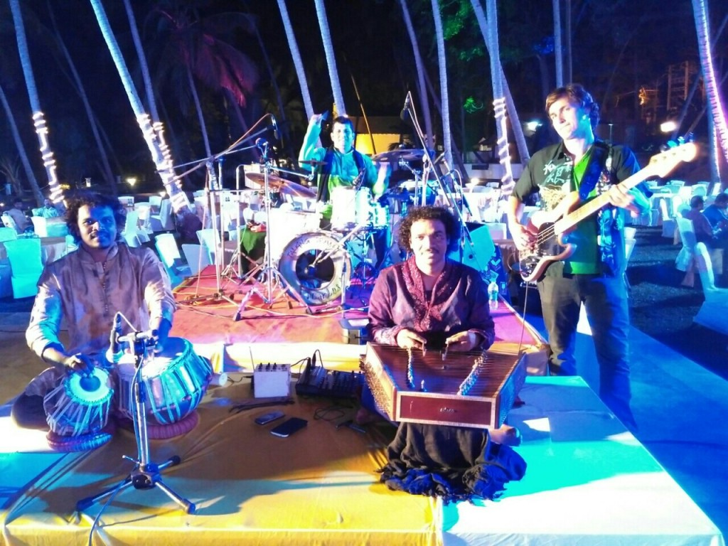 fusion music in Goa