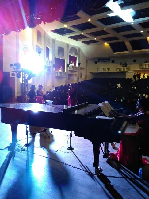 Kala Academy piano