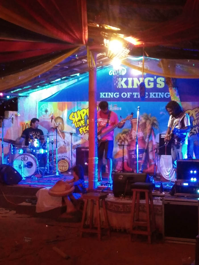 Rock Music  in Goa